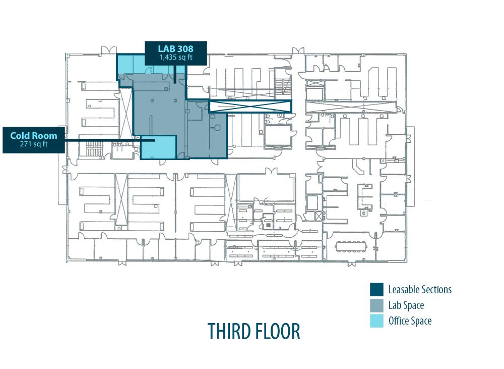 Floor Plans | La Jolla Cove Research Center Floor Plans